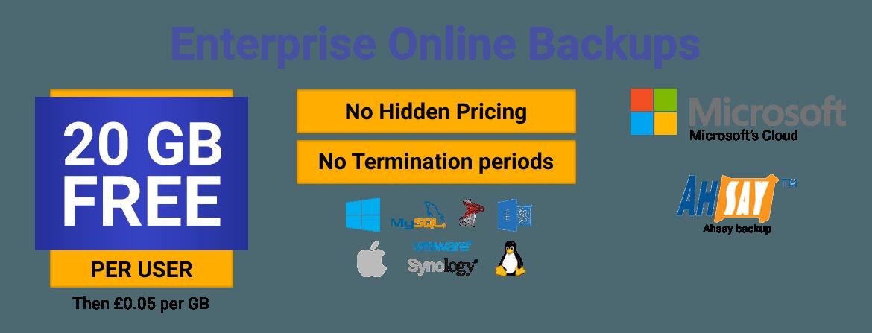 Online Backup for business