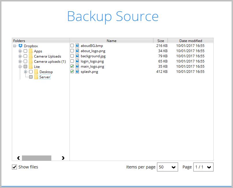 Backup Source