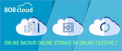 Online Backup, Online Storage or Online FileSync ?