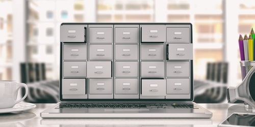 Electronic data archive