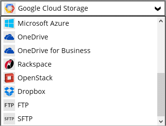 Storage destinations. Backup your school data to more than 1000 cloud destinations worldwide.