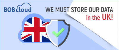 do you have to store your data in the UK