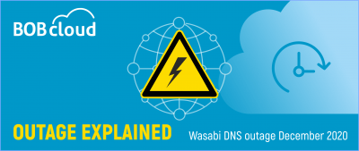 Wasabi DNS outage December 2020