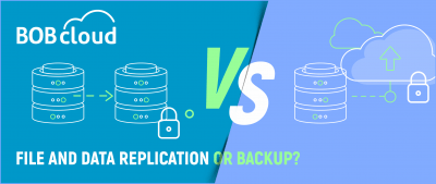 File and data Replication or Backup?