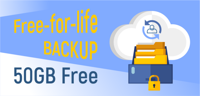 Free 50GB cloud storage