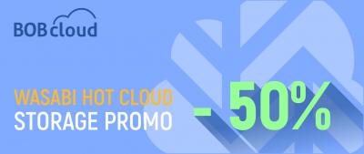 Wasabi 50% promo